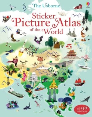 sticker-picture-atlas-of-the-world