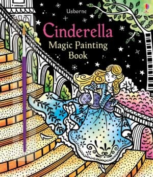cinderella-magic painting-book