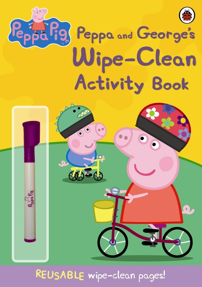 Peppa-and-Georges-Wipe-Clean-Activity-Book