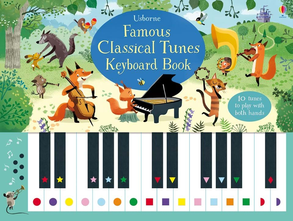 famous-classical-tunes-keyboard-books