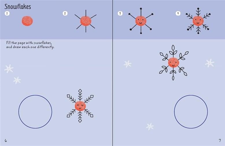 Usborne-minis-finger-printing-christmas-1