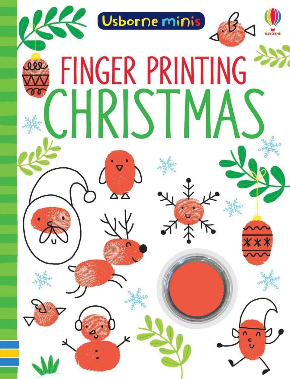 Usborne-minis-finger-printing-christmas