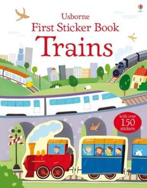 first-sticker-book-trains