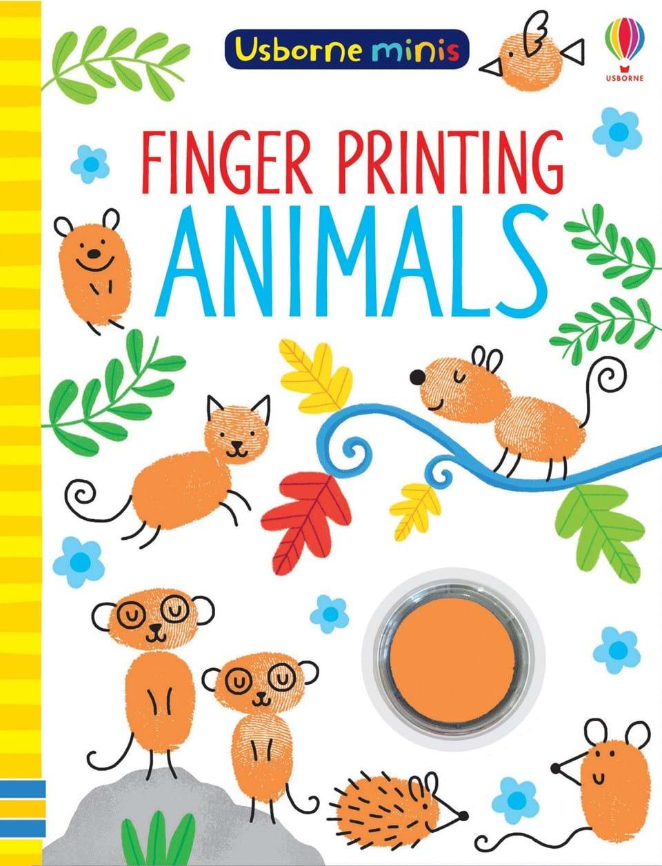 Usborne-minis-finger-printing-animals