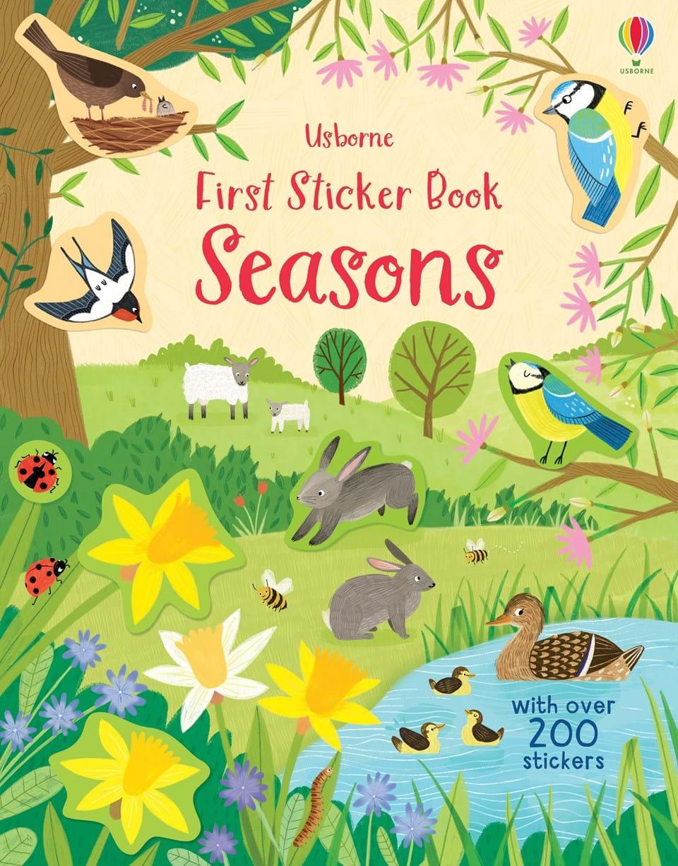 first-sticker-book-seasons